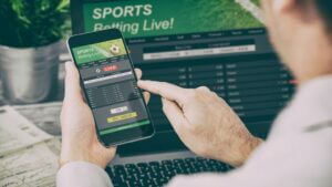 Mobile Sports Betting Handle US