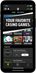 DraftKings Casino App in Connecticut